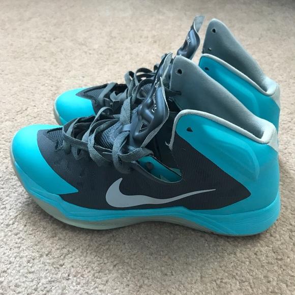 Mens Nike Hyperquickness Blue Gray
